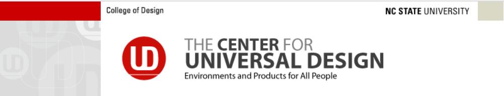 Centre for Universal Design