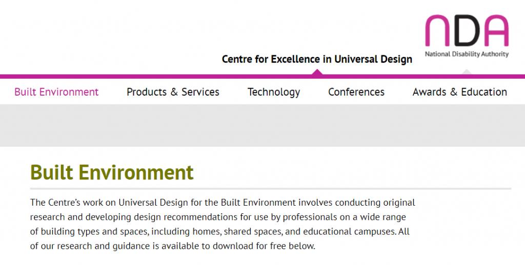 NDA - Built Environment