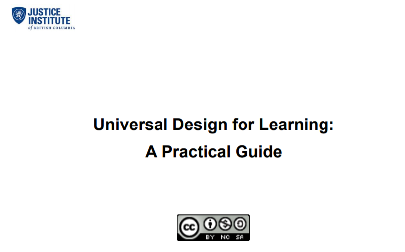 UDL - A Practical Guide