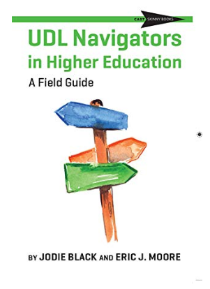 UDL Navigators in HE - front cover of book