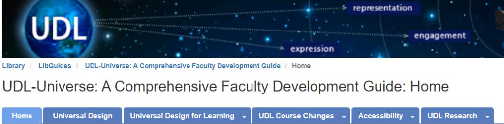 UDL-Universe homepage