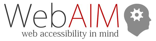 Web-Aim logo