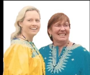 Susie Gronseth and Elizabeth Dalton